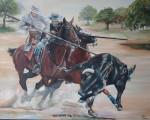 Obras de arte: Europa : Espa�a : Andaluc�a_Sevilla : paso_2 : ACOSO Y DERRIBO