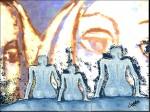 Obras de arte: America : Perú : Lima : chorrillos : Observandonos los unos a los otros