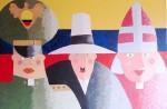 Obras de arte: America : Colombia : Antioquia : Medellín : Las Autoridades