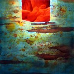 Obras de arte: Europa : España : Catalunya_Barcelona : Sitges : Secreto en rojo II