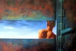 Obras de arte: Europa : España : Catalunya_Barcelona : Sitges : Secretos de atardecer I