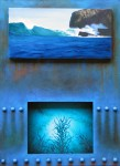 Obras de arte: Europa : España : Catalunya_Barcelona : Sitges : Secretos de mar II