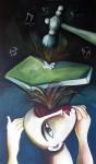 Obras de arte: America : Cuba : Ciudad_de_La_Habana : miramar_playa : Martillando la ilusión.