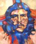 Obras de arte: America : Bolivia : La_Paz : murillo : el che vive