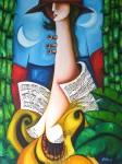 Obras de arte: America : Cuba : Ciudad_de_La_Habana : miramar_playa : guajira integracion II