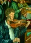 Obras de arte: America : Perú : Lima : chorrillos : Musica en la taberna