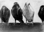 Obras de arte: America : Argentina : Buenos_Aires : San_Isidro : cuatro cuervos