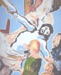 Obras de arte: Europa : Francia : Nord-Pas-de-Calais : LONGUENESSE : Descente de croix ( d'après RUBENS )