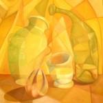 Obras de arte: America : Perú : Lima : chorrillos : Bodegon amarillo