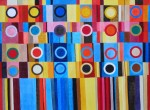 Obras de arte: Europa : Francia : Languedoc-Roussillon :  : Dos docenas - pintura abstracta