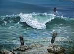 Obras de arte: America : Cuba : Ciudad_de_La_Habana : San_Miguel_del_Padrón : Serie orillas de mar