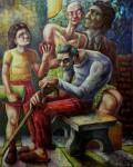 Obras de arte: America : Argentina : Tierra_del_Fuego : Ushuaia : extranas relaciones