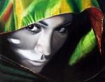 Obras de arte: Europa : España : Madrid : Madrid_ciudad : La de los ojos negros