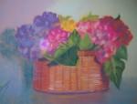 Obras de arte: Europa : España : Galicia_La_Coruña : FERROL : ceston con flores