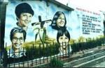 Obras de arte: America : El_Salvador : Santa_Ana : santa_ana_ciudad : HOMENAJE A LAS HERMANAS MARINOLES ASESINADAS EN EL SALVADOR