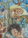 Obras de arte: America : Perú : Lima : chorrillos : el sueño