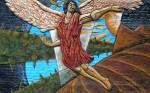 Obras de arte: America : Argentina : Tierra_del_Fuego : Ushuaia : Angel de la Tierra