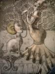 Obras de arte: Europa : España : Madrid : Madrid_ciudad : camelia perdida