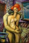 Obras de arte: America : Argentina : Tierra_del_Fuego : Ushuaia : Los amantes del amor