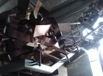 Obras de arte: America : Argentina : Buenos_Aires : Vicente_Lopez : Balconeante de escalera