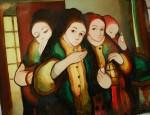 Obras de arte: America : Panamá : Veraguas : Santiago_de_Veraguas : HERMANAS