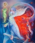 Obras de arte: America : Argentina : Buenos_Aires : Villa_Elisa : El profeta Ezequiel bajo el influjo de Venus