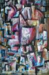 Obras de arte: America : Argentina : Tierra_del_Fuego : Ushuaia : Abstrcta ciudad
