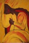 Obras de arte: America : Cuba : Santiago_de_Cuba : Palma_Soriano : El reposo de Maria