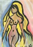 Obras de arte: America : Paraguay : Central-Paraguay : Luque : serie desnudos 2007