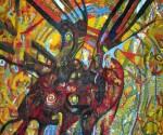 Obras de arte: America : Perú : Lima : chosica : yawar fiesta