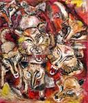 Obras de arte: America : Argentina : Buenos_Aires : Ciudad_de_Buenos_Aires : la furia de los lobos
