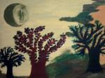 Obras de arte: Europa : Espa�a : Andaluc�a_M�laga : M�laga_ciudad : La luna verde