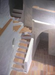 Obras de arte: Europa : España : Catalunya_Barcelona : Barcelona_ciudad : Les escales del pati