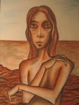 Obras de arte: Europa : España : Aragón_Zaragoza : zaragoza_ciudad : Muchacha a la orilla del mar
