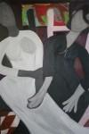 Obras de arte: America : Cuba : Santiago_de_Cuba : Palma_Soriano : Amigas