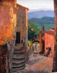 Obras de arte: Europa : España : Comunidad_Valenciana_Alicante : Elche : ATARDECER EN LA PROVENZA