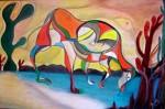 Obras de arte: America : Rep_Dominicana : La_Vega : Santo_Cerro : Desierto Tropical