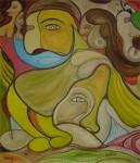 Obras de arte: America : Rep_Dominicana : La_Vega : Santo_Cerro : Descanso