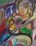 Obras de arte: America : Rep_Dominicana : La_Vega : Santo_Cerro : Semi despierto