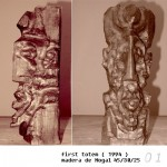 Obras de arte: Europa : España : Catalunya_Lleida : Lleida_ciudad : First Totem