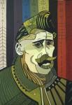 Obras de arte: America : Uruguay : Montevideo : Montevideo_ciudad : Pintura de Gurdjieff - Gurdjieff Paint