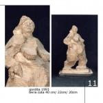 Obras de arte: Europa : España : Catalunya_Lleida : Lleida_ciudad : Gordita de pie