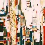 Obras de arte: Europa : Francia : Languedoc-Roussillon :  : Ligeramente - cuadro abstracto