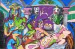 Obras de arte: America : Venezuela : Aragua : Maracay : El culo entre dos sillas