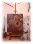 Obras de arte: America : Perú : Lima : chorrillos : Retrato del caballete y lienzo
