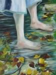 Obras de arte: Europa : España : Castilla_la_Mancha_Guadalajara : Moranchel : Llegando  a la orilla
