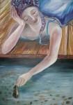 Obras de arte: Europa : España : Castilla_la_Mancha_Guadalajara : Moranchel : Cosquillas al agua