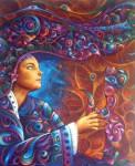 Obras de arte: America : Ecuador : Pichincha : Quito : A solas