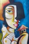 Obras de arte: America : Cuba : Ciudad_de_La_Habana : miramar_playa : Mirada primera