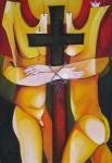 Obras de arte: America : Cuba : Ciudad_de_La_Habana : miramar_playa : Degüello de yugo y cruz